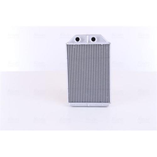 Heat Exchanger, interior heating NISSENS 70232 AUDI