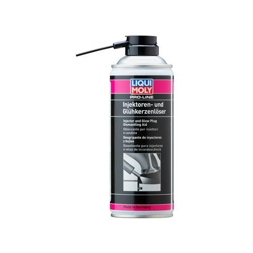 LIQUI MOLY Pro-Line Injektoren- und Glühkerzenlöser 400 ml 3379