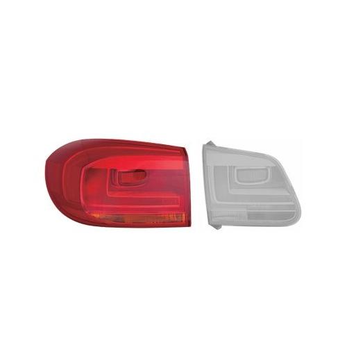 Combination Rearlight VAN WEZEL 5746931 VW