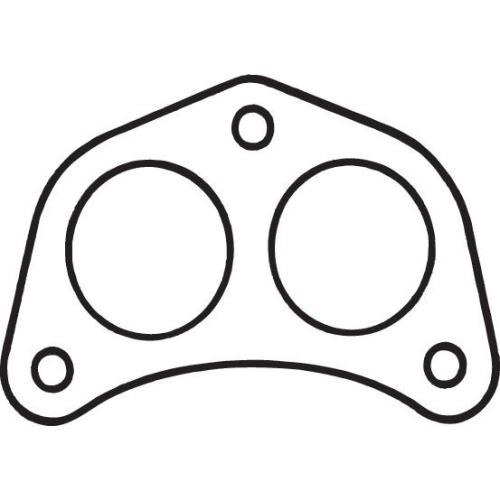 Gasket, exhaust pipe BOSAL 256-668 MITSUBISHI HYUNDAI