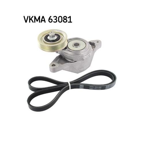 V-Ribbed Belt Set SKF VKMA 63081 HONDA TOYOTA