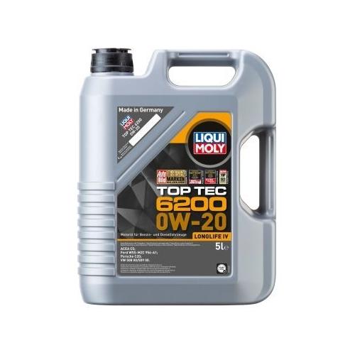 Engine Oil LIQUI MOLY 20781 Top Tec 6200 0W-20