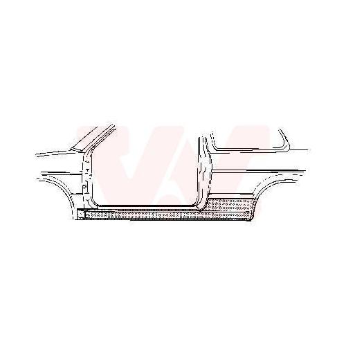 Einstiegblech VAN WEZEL 5812101