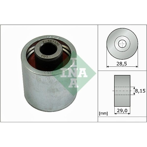 Deflection/Guide Pulley, timing belt INA 532 0310 10 VW AUDI (FAW)