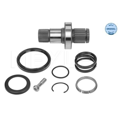 Stub Axle, differential MEYLE 100 498 0245 MEYLE-ORIGINAL: True to OE. VW