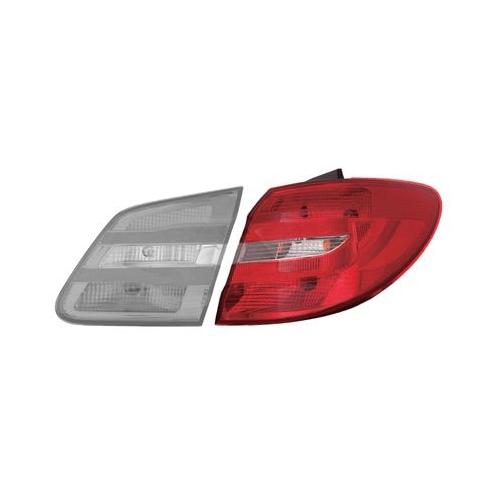 Combination Rearlight VAN WEZEL 3054932 MERCEDES-BENZ