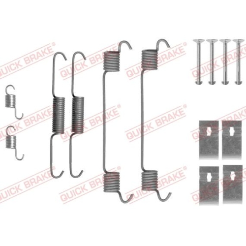 Accessory Kit, brake shoes QUICK BRAKE 105-0860