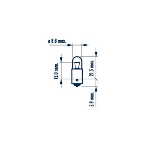 Bulb, indicator NARVA 17131