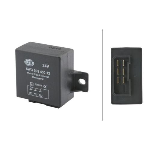 Relais, Wisch-Wasch-Intervall HELLA 5WG 002 450-121 AEBI O&K LIEBHERR