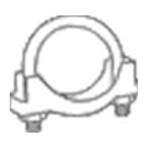 BOSAL Clamp, exhaust system 250-160
