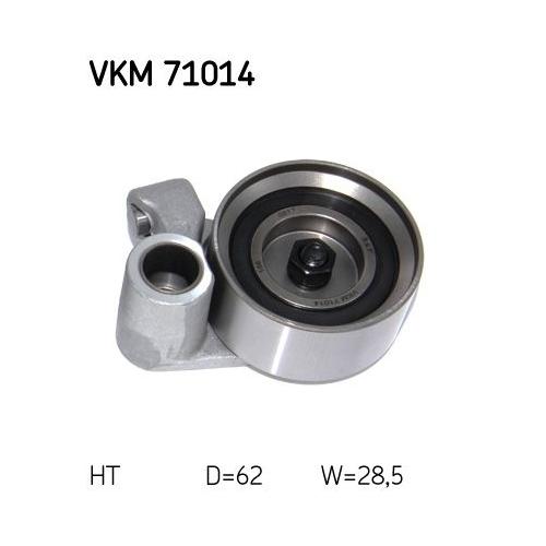 Spannrolle, Zahnriemen SKF VKM 71014 TOYOTA