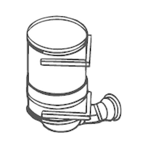 BOSAL Soot/Particulate Filter, exhaust system 095-120