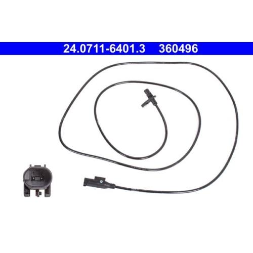 Sensor, Raddrehzahl ATE 24.0711-6401.3 MERCEDES-BENZ
