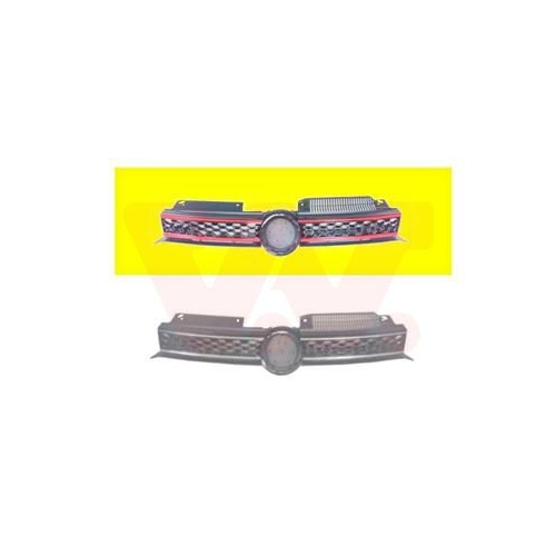 Kühlergitter VAN WEZEL 5765512 ** Equipart ** VW
