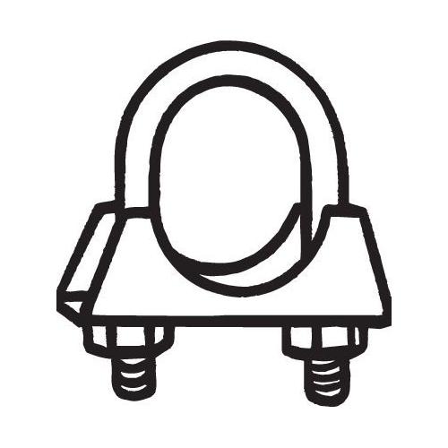 Klemmstück für Abgasanlage BOSAL mm 250-250 Durchmesser