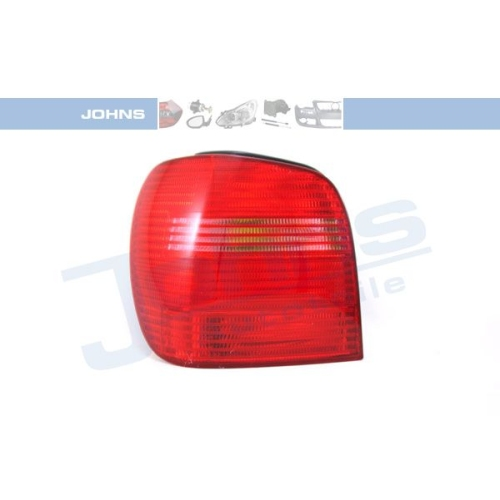 Combination Rearlight JOHNS 95 25 87-1 VW