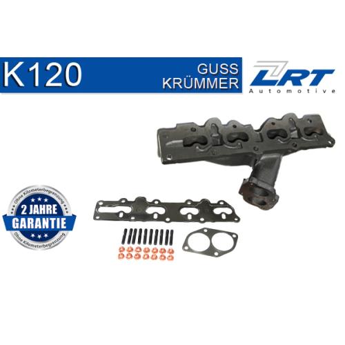 Krümmer, Abgasanlage LRT K120 OPEL VAUXHALL GENERAL MOTORS