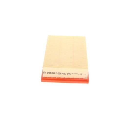 Luftfilter BOSCH F 026 400 345 GMC OPEL VAUXHALL CHEVROLET BUICK