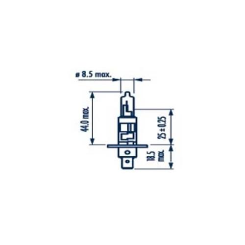 Glühlampe, Abbiegescheinwerfer NARVA 48630 Range Power Blue +