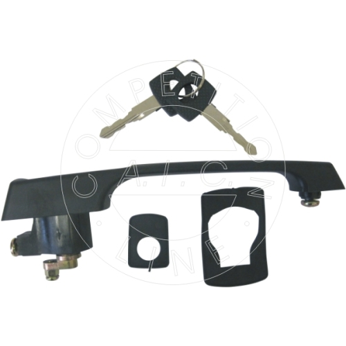 AIC door handle left + right with lock cylinder 54378