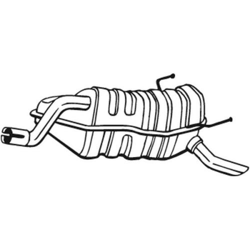 Endschalldämpfer BOSAL 148-359 FIAT LANCIA