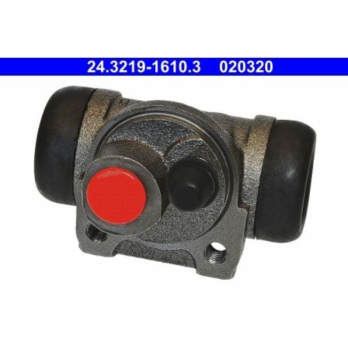Radbremszylinder ATE 24.3219-1610.3 CITROËN PEUGEOT