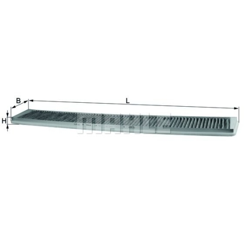 Filter, Innenraumluft MAHLE LAK 102 BMW