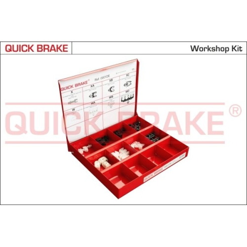 Assortment, fasteners QUICK BRAKE 0001DE