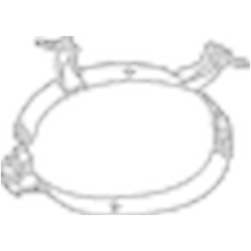 BOSAL Holder, exhaust system 251-016