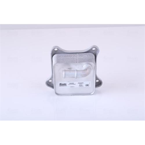 NISSENS Oil Cooler, engine oil 90680
