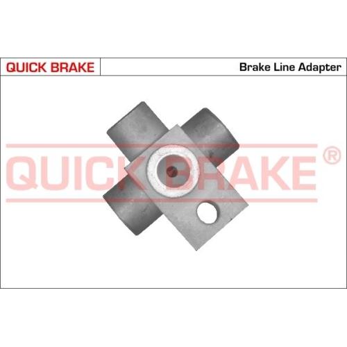 Adapter, Bremsleitung QUICK BRAKE O4A