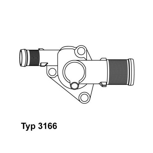 WAHLER Thermostat 3166.89D