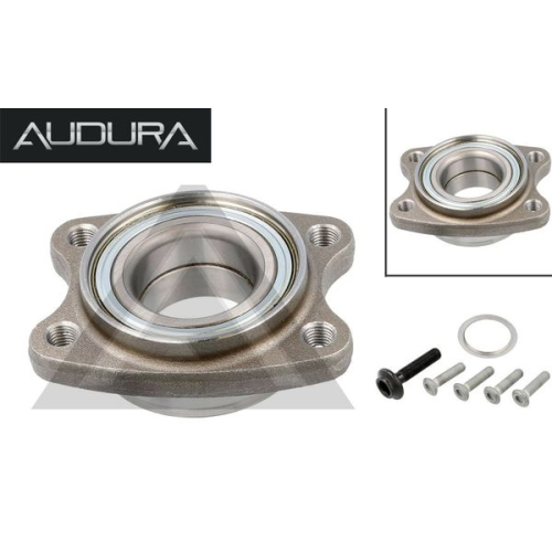 1 Radlagersatz AUDURA passend für AUDI PORSCHE SEAT VW VAG AR11123