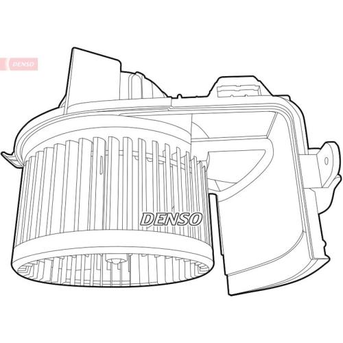 Innenraumgebläse DENSO DEA23004 RENAULT