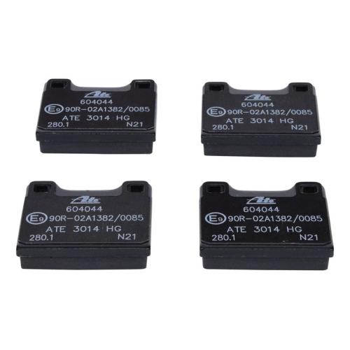 Bremsbelagsatz, Scheibenbremse ATE 13.0460-4044.2 VOLVO