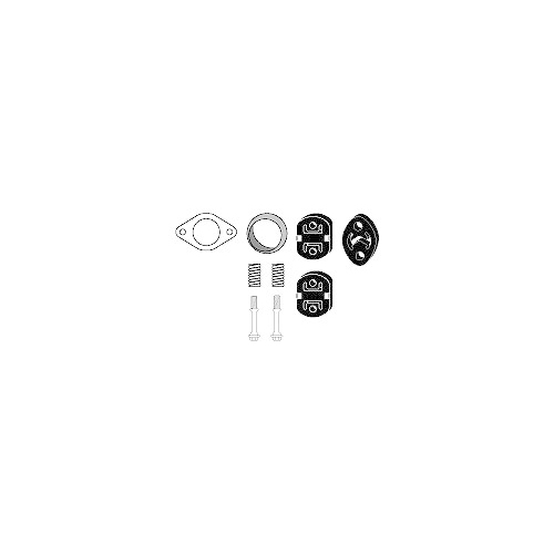 Mounting Kit, exhaust system HJS 82 41 7417