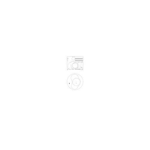 Piston KOLBENSCHMIDT 41094600 VW