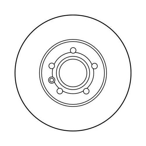 TRW Brake Disc DF2776