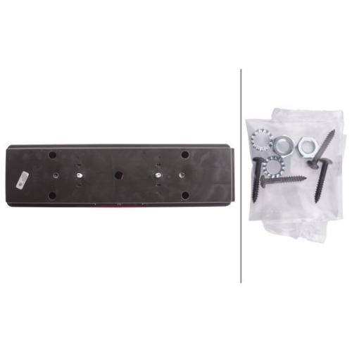 Combination Rearlight HELLA 2VD 008 204-111 DAF MERCEDES-BENZ