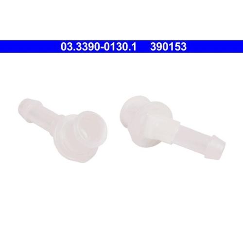 Connection Piece, hose line ATE 03.3390-0130.1 FIAT VAG