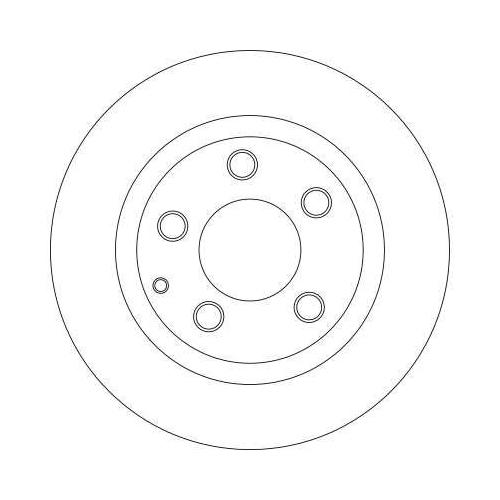 Brake Disc TRW DF4442 MAZDA MAZDA (FAW)
