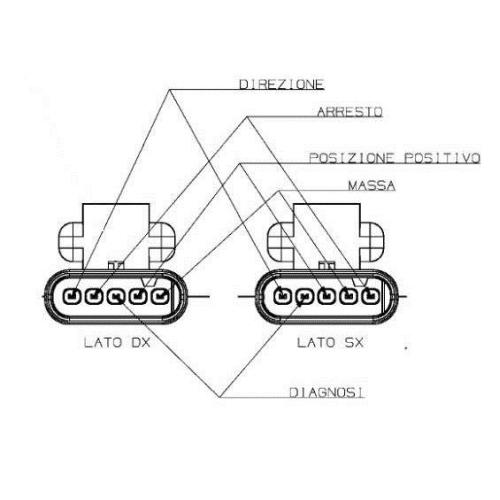 Combination Rearlight MAGNETI MARELLI 712204031120 FIAT