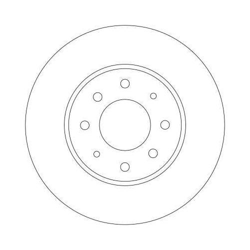 TRW Brake Disc DF4345
