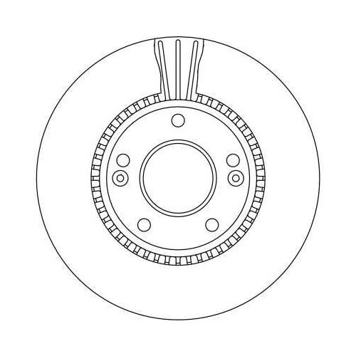 TRW Brake Disc DF4283