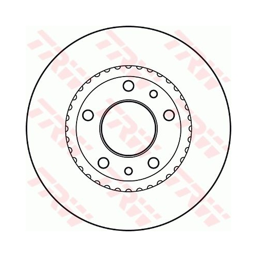 Brake Disc TRW DF4836S KIA