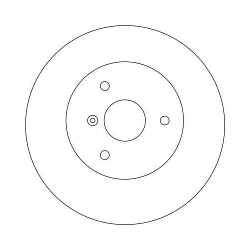 TRW Brake Disc DF4135