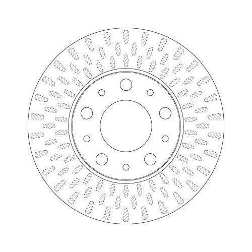 Brake Disc TRW DF4771S CITROËN FIAT PEUGEOT