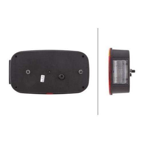Combination Rearlight HELLA 2VB 998 232-211