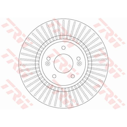 TRW Brake Disc DF7973