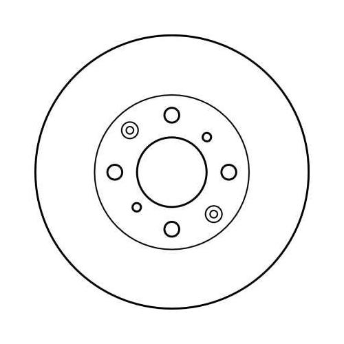 Brake Disc TRW DF4152 HONDA HONDA (GAC)
